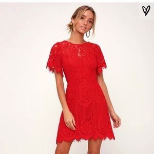 Brand New Red Cocktail Dress